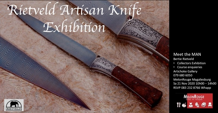 Rietveld Artisan Knife Exhibition